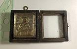Икона в серебряном окладе (84проба) в киоте photo 2