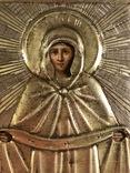 Икона в серебряном окладе (84проба) в киоте photo 4