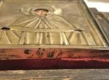 Икона в серебряном окладе (84проба) в киоте photo 5