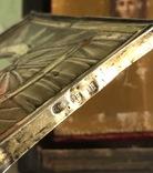 Икона в серебряном окладе (84проба) в киоте photo 8