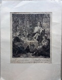 Гравюра 17-18 век . Friedrich I, фото №4