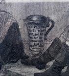Гравюра 17-18 век . Friedrich I, фото №6