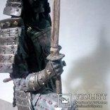 Воин самурай 25 см, фото №4