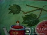 Иван Гузь Кухонный натюрморт 1987г. бумага акварель 47х36см, фото №10