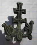 Процветший крест. Накладка КР на книгу. photo 1
