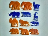 Фигурки животных. Зоопарк., фото №2