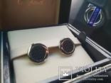 Запонки Chopard Mille Miglia 750проба, фото №5