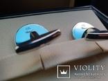Запонки Chopard Mille Miglia 750проба, фото №6