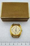 Часы Заря СССР позолота AU 10 , паспор и коробка, на ходу., фото №3