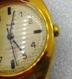 Часы Заря СССР позолота AU 10 , паспор и коробка, на ходу., фото №6