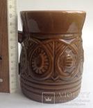 Кружка для пива / кваса Кварта. Керамика., фото №7