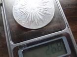 8 риалов 1896  Мексика серебро   (Л.6.10)~, фото №7