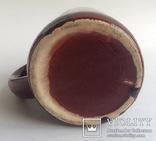 Кружка для пива / кваса старинная. Поливная керамика. Кракелюр., фото №7