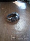 Кольцо викинг  серебро 925пр копия, фото №5