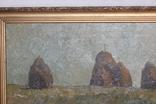 М.В. Антипов. Сенокос окончен. 1989. 60х80, фото №4