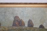 М.В. Антипов. Сенокос окончен. 1989. 60х80, фото №5