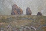 М.В. Антипов. Сенокос окончен. 1989. 60х80, фото №8