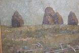 М.В. Антипов. Сенокос окончен. 1989. 60х80, фото №9