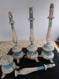 Подсвечники деревянные в барочном стиле, фото №2
