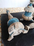 Подсвечники деревянные в барочном стиле, фото №6