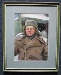 Волошин Георгий Сергеевич (1925-2014), мальчик в шапке-ушанке, Днепропетровск 1944г.,к.м., фото №2