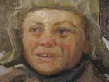 Волошин Георгий Сергеевич (1925-2014), мальчик в шапке-ушанке, Днепропетровск 1944г.,к.м., фото №4