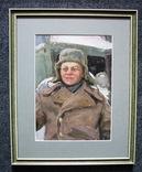 Волошин Георгий Сергеевич (1925-2014), мальчик в шапке-ушанке, Днепропетровск 1944г.,к.м., фото №7