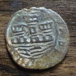 1 сейтил 1/6 реала  (1521-1557)  Португалия  Жуан III  (Л.10.21)~, фото №2