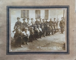 Фотография. 4 ударный взвод ОСО Ц.Р.К. 1920 е., фото №2
