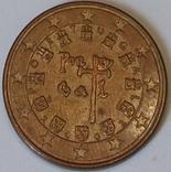 Португалія 5 євроцентів, 2002