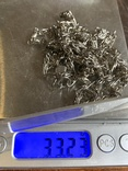 Длинная цепочка-карабин 33 грамма, фото №6