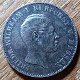 Гессен - Кассель 1 талер 1865 г., фото №3