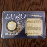 3 Евро Словенія 2009р., фото №2