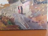 Картина Сельский закат., фото №5