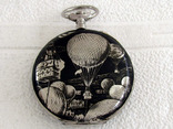 Systeme Roskoff Антикварный Swiss уникальный корпус от карманных часов, фото №2
