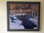 «Ранний снег» Шкуропат 1998 90*80 см.