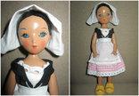 Старинная кукла Золушка рельефные волосы СССР, фото №2