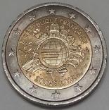 Франція 2 євро, 2012 10 років готівковому євро