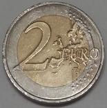 Франція 2 євро, 2012 10 років готівковому євро фото 2