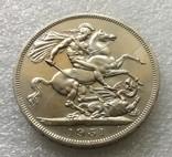 Великобритания. 5 Шиллингов / Крона 1951 г. Proof. Георг VI, фото №4