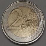 Іспанія 2 євро, 2009 10 років Економічному і монетарному союзу і введенню євро фото 2