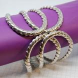 Широкий разжимной браслет, фото №2