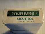 Сигареты COMPLIMENT MENTHOL фото 5