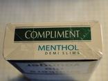 Сигареты COMPLIMENT MENTHOL фото 6