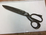 Старинные большие ножницы Германия, фото №2