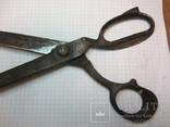 Старинные большие ножницы Германия, фото №7