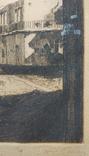 1930-е, Европа, Офорт, подпись, 32*25,5см, фото №4