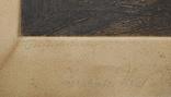 1930-е, Европа, Офорт, подпись, 32*25,5см, фото №7