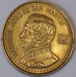 Аргентина 100 песо, 1978 200 років від народження Хосе де Сан-Мартіна фото 2