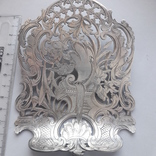 Сервировочная лопатка (для спаржи), рукоять серебро, Франция photo 2